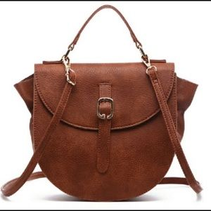 Beautiful Cognac Color Crossbody